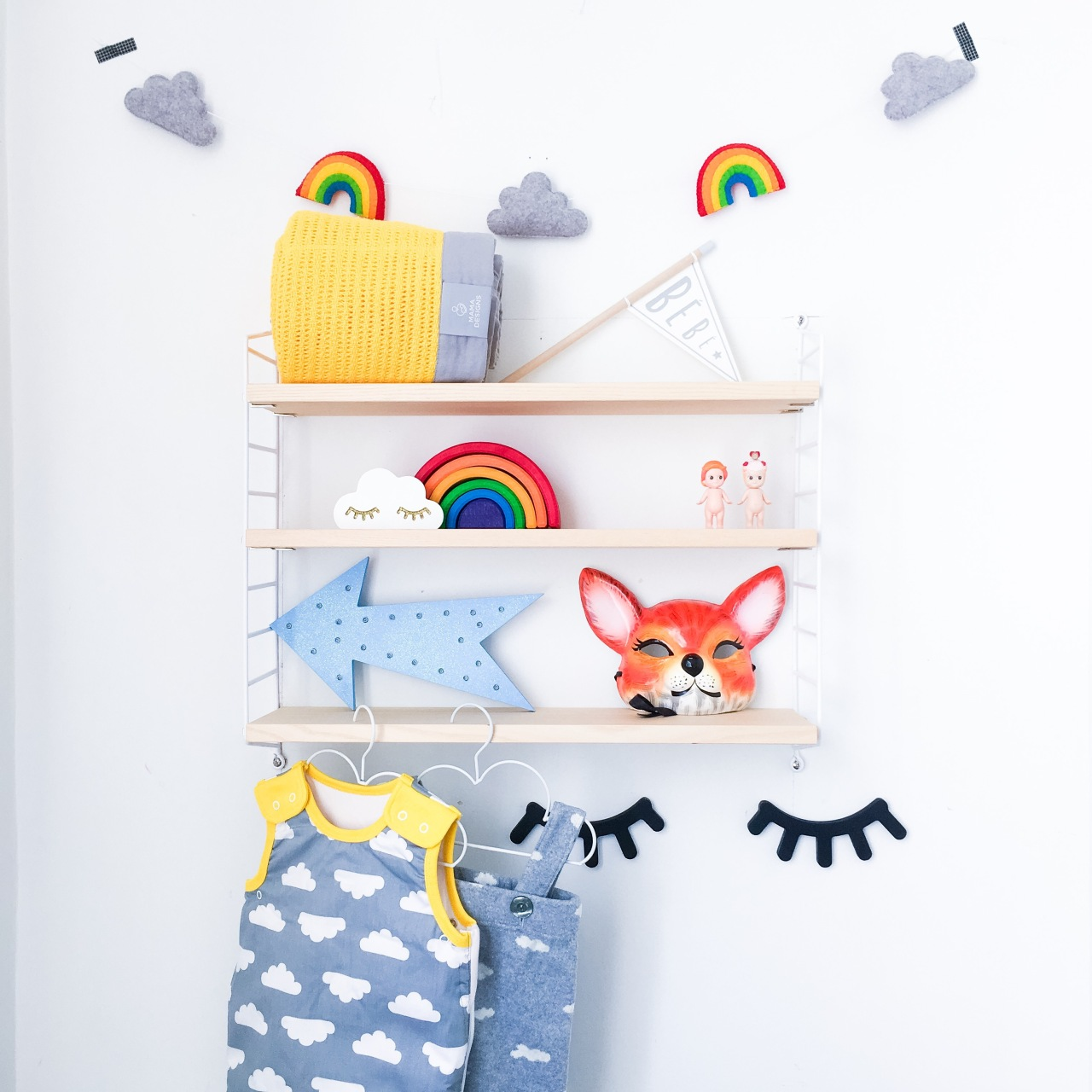 playful bright nursery