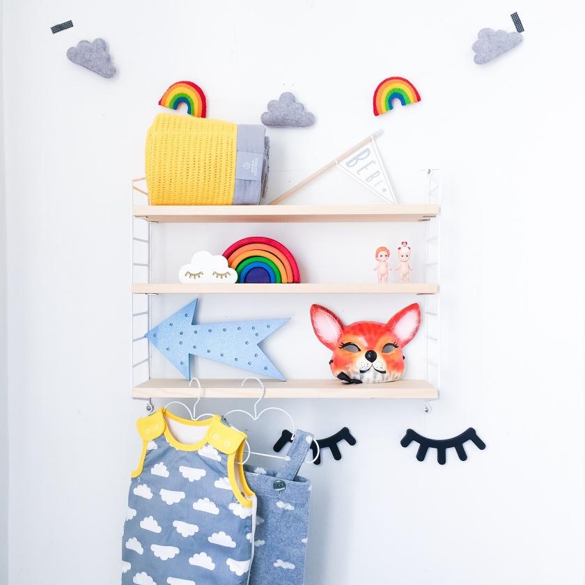 playful bright nursery