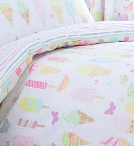 Icecream print Bedding