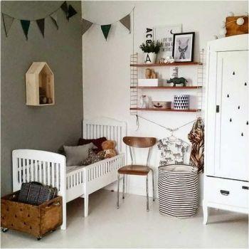 Muted kidsroom goals! image: Pinterest
