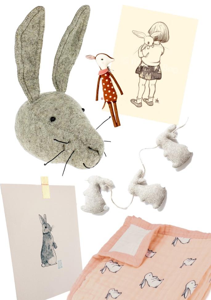 Velveteen Babies Bunny