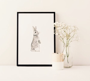 Howell Illustration bunny